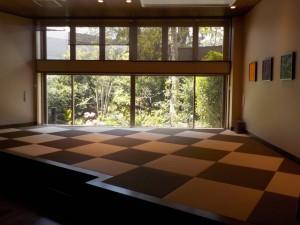 ガーデンラウンジ畳スペース